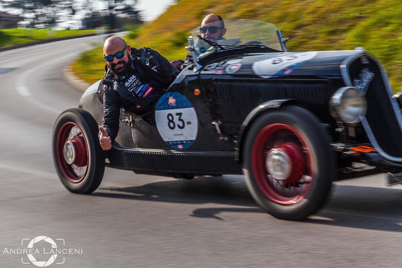 Mille Miglia e Cassia Corse: i nostri soci entusiasmano ed emozionano