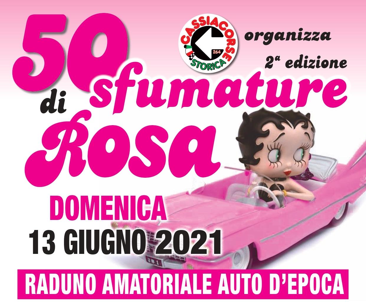 50 sfumature di rosa, appuntamento al 13 giugno